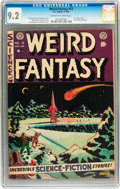 Golden Age (1938-1955):Science Fiction, Weird Fantasy #12 (EC, 1952) CGC NM- 9.2 Off-white to whitepages....
