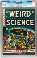 Golden Age (1938-1955):Science Fiction, Weird Science #16 (EC, 1952) CGC NM 9.4 Off-white to whitepages....