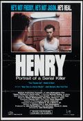 "Movie Posters:Crime, Henry: Portrait of a Serial Killer (Maljack, 1986). One Sheet (27""X 40""). Crime.. ..."