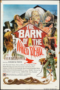 "The Barn of the Naked Dead (Twin World Pictures, 1975). One Sheet (27"" X 41""). Horror"