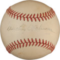 Autographs:Baseballs, Circa 1940 Mickey Cochrane Single Signed Baseball....