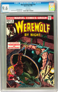 Bronze Age (1970-1979):Horror, Werewolf by Night #16 (Marvel, 1974) CGC NM+ 9.6 White pages....