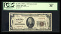 National Bank Notes:Virginia, Saltville, VA - $20 1929 Ty. 1 The First NB Ch. # 11265. ...