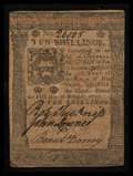 Colonial Notes:Pennsylvania, Pennsylvania October 1, 1773 10s Extremely Fine.. ...