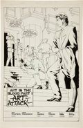Original Comic Art:Splash Pages, Bill Jaaska Sable #15 Splash Page 10 Original Art (First,1989)....