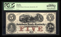 Obsoletes By State:Kentucky, Russellville, KY- Southern Bank of Kentucky $5 G336a Hughes 745 Proof. ...