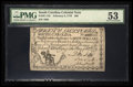 Colonial Notes:South Carolina, South Carolina February 8, 1779 $60 PMG About Uncirculated 53.. ...