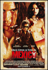 """Once Upon a Time in Mexico (Columbia, 2003). One Sheet (27"""" X 40""""). Action"""