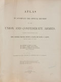 Books:Americana & American History, [Civil War]. Atlas to Accompany the Official Records of theUnion and Confederate Armies. Washington: Government Pri...(Total: 2 Items)