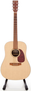 Musical Instruments:Acoustic Guitars, 1999 Martin DXM Natural Acoustic Guitar, #681389....