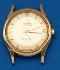 Timepieces:Wristwatch, Omega Automatic Chronometer 18K Gold Wristwatch. ...