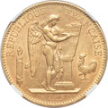 France: Republic gold 100 Francs 1906A
