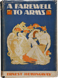 Books:Literature 1900-up, Ernest Hemingway. A Farewell to Arms. New York: CharlesScribner's Sons, 1929. First edition, later issue (issued t...