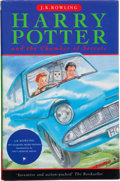 Books:Children's Books, J. K. Rowling. Harry Potter and the Chamber of Secrets. London:Bloomsbury, [1998]. First edition of the second Harry Potter...