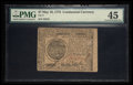 Colonial Notes:Continental Congress Issues, Continental Currency May 10, 1775 $7 PMG Choice Extremely Fine 45.....