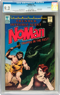 NoMan #1 Twin Cities pedigree (Tower, 1966) CGC NM- 9.2 White pages