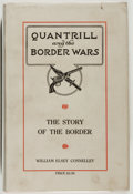 Books:Americana & American History, William Elsey Connelley. Quantrill and the Border Wars.Cedar Rapids, Iowa: Torch Press, 1910. First edition. ...