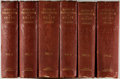Books:Biography & Memoir, [Frederick the Great]. Thomas Carlyle. History of Friedrich II.of Prussia..... London: Chapman and Hall, 1858-1865.... (Total:6 Items)