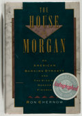 Books:Biography & Memoir, Ron Chernow. The House of Morgan... New York: AtlanticMonthly Press, [1990]. First printing. Signed. From the...