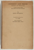 Books:Business & Economics, Knut Wicksell. Interest and Price. A Study of the CausesRegulating the Value of Money. London: Macmillan, 1...