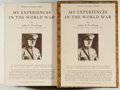 Books:World History, John J. Pershing. My Experiences in the World War. New York: Frederick A. Stokes, 1931. Author's signed autogr... (Total: 2 Items)