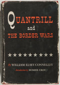 Books:Americana & American History, William Elsey Connelley. Quantrill and the Border Wars. NY:Pageant, 1956. Limited edition for the Civil War Boo...