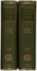 Books:Americana & American History, [Abraham Lincoln]. John G. Nicolay and John Hay, ed. AbrahamLincoln. Complete Works. NY: Century, 1894. First e...(Total: 2 Items)