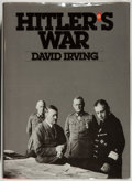 Books:World History, David Irving. Hitler's War. New York: Viking, [1977]. First edition. Signed by the author. From the James ...