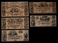 Obsoletes By State:Louisiana, New Orleans, LA- New Orleans Canal & Banking Compy $5 (2); $10; $20; $50; $100. ... (Total: 6 notes)