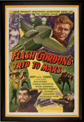 Memorabilia:Poster, Flash Gordon's Trip to Mars Movie Serial Poster (UniversalInternational, c. late 1940s)....