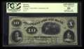 Obsoletes By State:Maryland, Cumberland, MD- Allegany County Bank $10 Nov. 7, 1862. ...