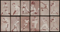 Baseball Cards:Lots, 1939-1966 Exhibits Baseball Collection (58) With Many Star...