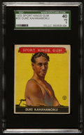 Baseball Cards:Singles (1930-1939), 1933 Sport Kings Duke Kahanamoku #20 SGC 40 VG 3....