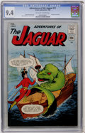 Silver Age (1956-1969):Superhero, Adventures of the Jaguar #11 (Archie, 1963) CGC NM 9.4 Off-white to white pages....