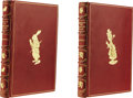 Books:Children's Books, Lewis Carroll: Custom Slipcased Set of Early Printings of BothAlice's Adventures in Wonderland and Through the Look...(Total: 2 Item)
