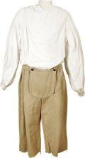 """Movie/TV Memorabilia:Costumes, """"Dracula 2000"""" Sailor Outfit. A sailor's tunic and knee-length pants, worn by an extra in the 2000 modernized adaptation of ... (Total: 1 Item)"""