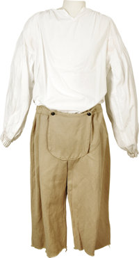 """""""Dracula 2000"""" Sailor Outfit. A sailor's tunic and knee-length pants, worn by an extra in the 2000 modernized..."""