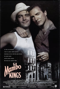 "Mambo Kings (Warner Brothers, 1992). One Sheet (27"" X 40"") DS. Musical"