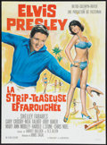 """Movie Posters:Elvis Presley, Girl Happy (MGM, 1966). French Affiche (23"""" X 31""""). Elvis Presley....."""