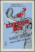 "Movie Posters:Adventure, Elephant Boy (London Films, R-1950s). British One Sheet (27"" X40""). Adventure.. ..."