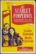"""Movie Posters:Adventure, The Scarlet Pimpernel (London Films, R-1950s). British One Sheet(27"""" X 40""""). Adventure.. ..."""