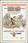 "Movie Posters:Comedy, Salt and Pepper (United Artists, 1968). One Sheet (27"" X 41""). Comedy.. ..."
