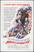 """Movie Posters:Exploitation, Wild in the Streets (American International, 1968). One Sheet (27""""X 41""""). Exploitation.. ..."""