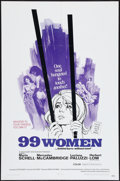 "Movie Posters:Bad Girl, 99 Women (Commonwealth United, 1968). One Sheet (27"" X 41""). BadGirl.. ..."
