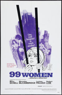 "99 Women (Commonwealth United, 1968). One Sheet (27"" X 41""). Bad Girl"