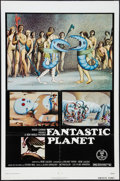 """Movie Posters:Animation, Fantastic Planet (New World, 1973). One Sheet (27"""" X 41"""").Animation.. ..."""