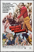 """Movie Posters:Adventure, Tarzan's Deadly Silence (National General, 1970). One Sheet (27"""" X41""""). Adventure.. ..."""