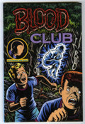 "Books:Signed Editions, Charles Burns - ""Blood Club"" Hardcover Signed #164/1000 (KitchenSink Press, 1992)...."