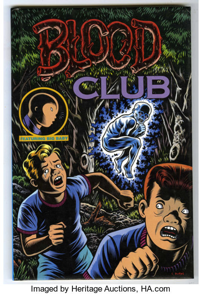 Kitchen Sink Press Charles burns blood club hardcover signed 1641000 lot 17623 bookssigned editions charles burns blood club hardcover signed 164 workwithnaturefo