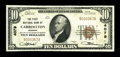 National Bank Notes:Missouri, Carrollton, MO - $10 1929 Ty. 1 The First NB Ch. # 4079. ...
